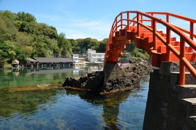 矢島経島の橋