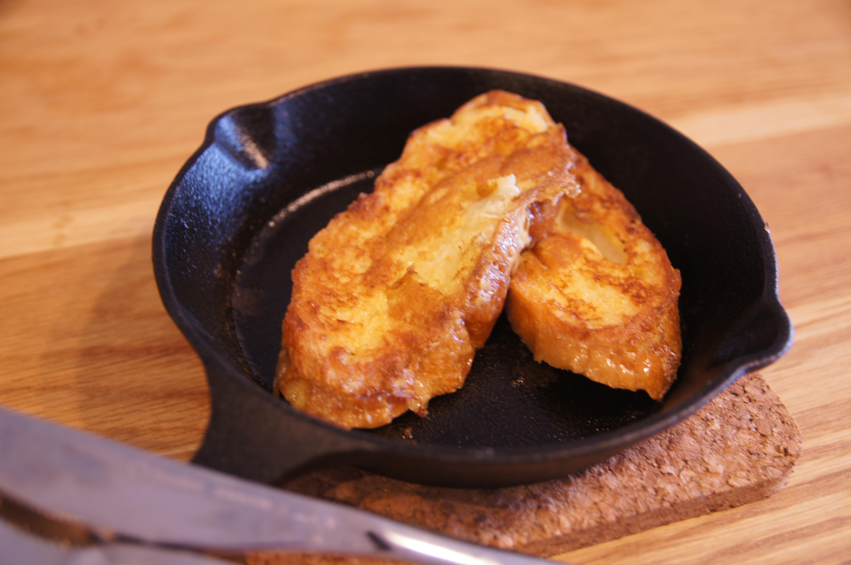豆乳を使った簡単ヘルシーフレンチトースト