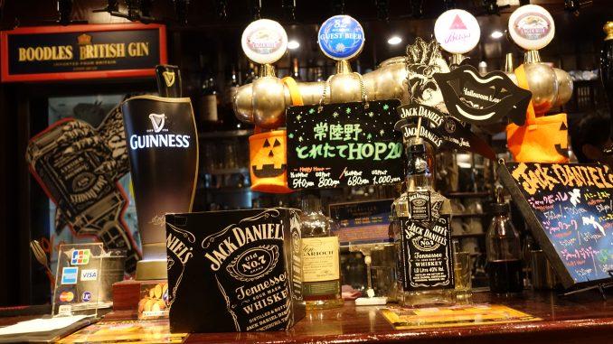 82 ALE HOUSEのGUEST BEER クラフトビール 英国PUB 82品川店 品川駅