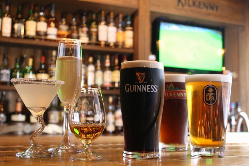 irish pub Robin 新潟 クラフトビール 地ビール ビール ビア ビアパブ 居酒屋
