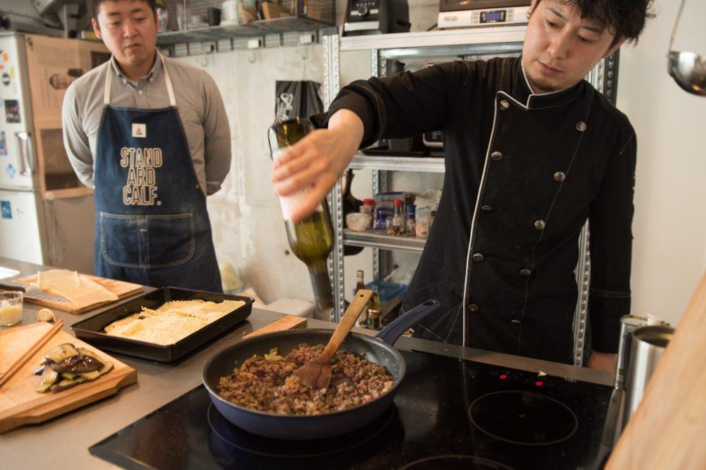 太郎メシ リストランテタロウ レシピ動画 ラザニア 井上味噌醤油店