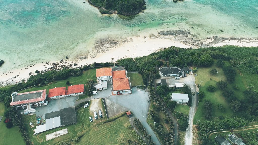 西表島 沖縄 ドローン 空撮