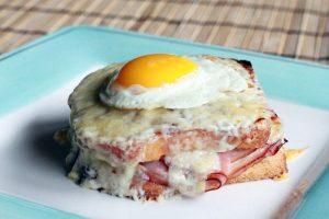 卵料理 卵レシピ 玉子レシピ 玉子 クロック・マダム 卵レシピ