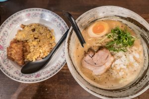 西中島南方 ラーメン らーめん 大杉製麺